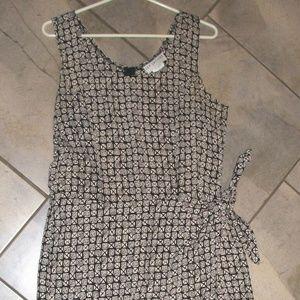 Jay Jacobs Sleeveless Waist Wrap/ Sarong Dress 13